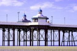 Blackpool's historic North Pier, a fantastic place to relax and unwind