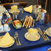 Howard Hotel: the Howard's well renowned breakfast